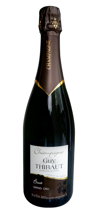 Guy Thibaud brut Verzenay, Grand Cru' Guy Thibaut, 750 ml