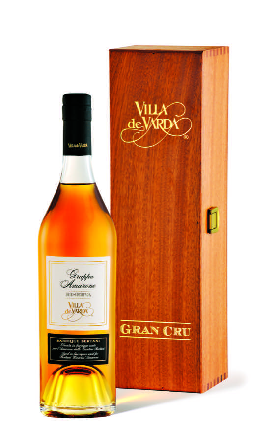 Grappa Amarone Riserva, Barrique Bertani', Villa de Varda, 700 ml